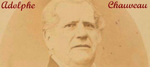 Adolphe Chauveau - MTD(c)